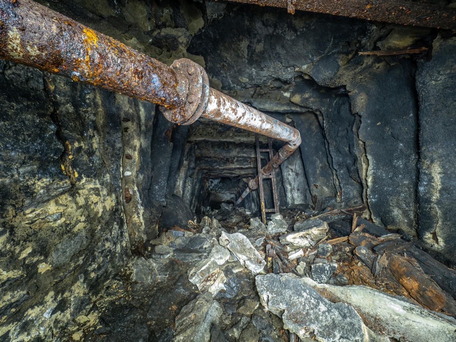 Hazzan Coal Mine